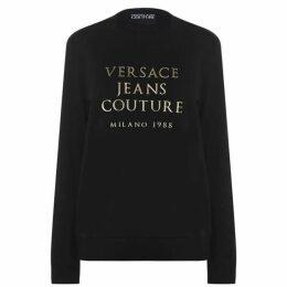 Versace Jeans Couture Metal Logo Sweatshirt