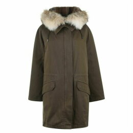 Yves Salomon Classic Long Parka