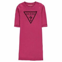 Guess Logo Long Sleeve Dress