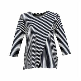 Breton Striped T-Shirt with 3/4 Length Sleeves