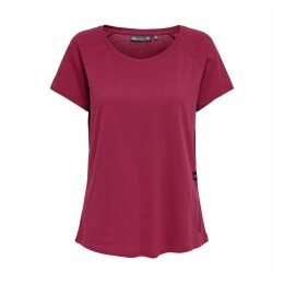 Cotton Ambi Round Neck T-Shirt with Print on Side