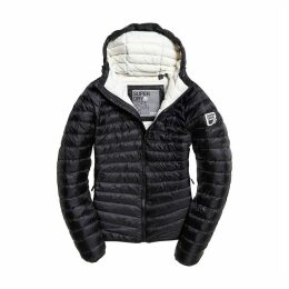 Hype Core Down Padded Jacket with Hood and Pockets