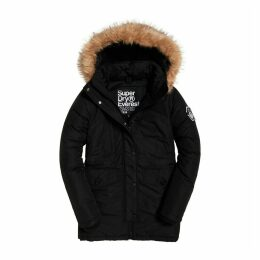 Mid-Length Ashley Everest Parka with Faux Fur Hood