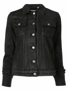 Helmut Lang Pre-Owned 1999 faded denim jacket - Black