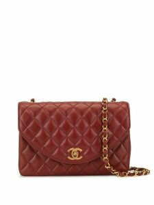 Chanel Pre-Owned Chain Shoulder Bag - Red