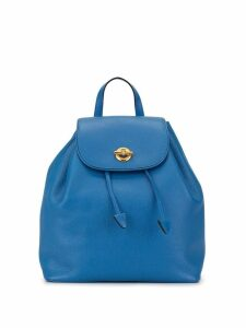 Céline Pre-Owned twist-lock rucksack - Blue