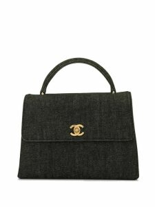 Chanel Pre-Owned CC turn-lock tote - Black