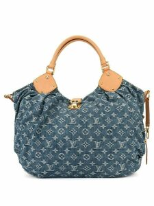 Louis Vuitton Pre-Owned logo denim tote bag - Blue