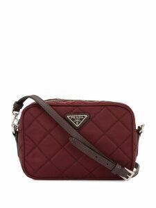 Prada Pre-Owned triangle logo crossbody bag - Brown