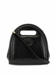 Gucci Pre-Owned GG patch 2way bag - Black