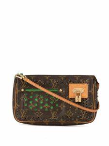 Louis Vuitton Pre-Owned Pochette cut-out shoulder bag - Brown