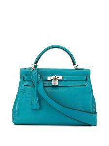 Hermès Pre-Owned Kelly 32 Retourne tote - Blue
