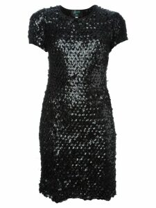 Jean Paul Gaultier Pre-Owned sequinned dress - Black