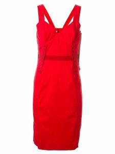Prada Pre-Owned fitted dress - Red