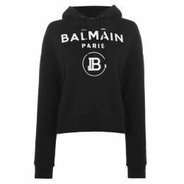 Balmain Logo Over The Head Hoodie