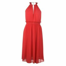 MICHAEL Michael Kors MICHAEL Chain Neck Midi Dress