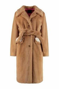 Pinko Oziare Faux Fur Coat