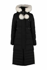 Moose Knuckles Saskatchewan Padded Parka With Fur Hood