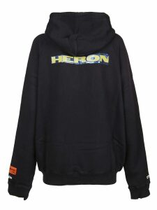 HERON PRESTON Felpa Raglan Heron Patch