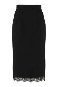 Dolce & Gabbana Stretch Pencil Skirt
