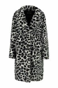 Alberta Ferretti Faux Fur Coat