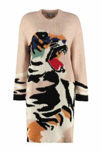 Kenzo Intarsia Sweater-dress