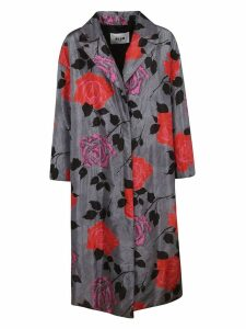 MSGM Rose Print Coat