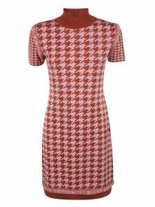 Blumarine Turtleneck Dress