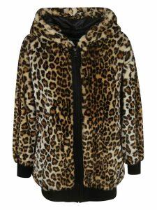Moschino Animal Print Jacket