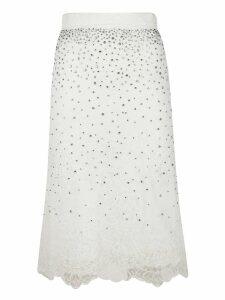 Ermanno Scervino Embellished Skirt