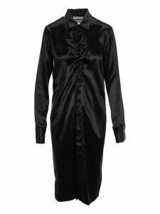 Bottega Veneta Midi Shirt Style Dress