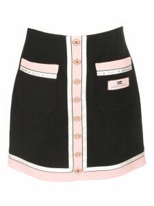 Elisabetta Franchi Celyn B. Logo Patch Skirt