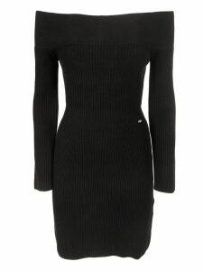 Elisabetta Franchi Celyn B. Off Shoulder Dress