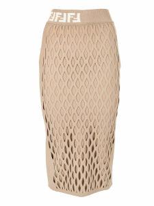 Fendi Mesh Skirt