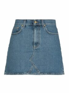 Chiara Ferragni Mini Jeans Skirt