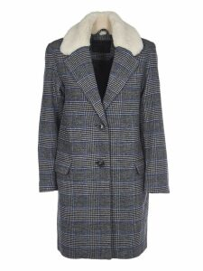 Levis Checkered Wool Coat