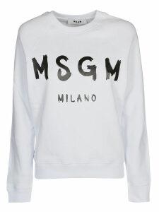 MSGM Print Sweatshirt