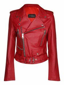 Manokhi Biker Leather Jacket