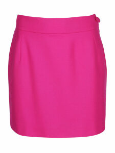 The Attico Strech Cotton Skirt