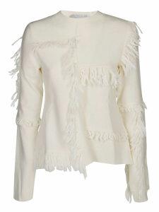 Stella McCartney Asymmetric Fringed Sweater