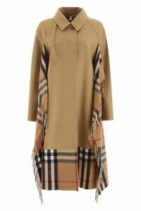 Burberry Trench Coat With Scarf Inserts