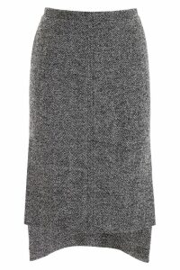 N.21 Chevron Pencil Skirt