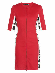 Love Moschino Cotton Twill Dress