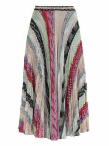 Missoni Pleated Multicolor Skirt