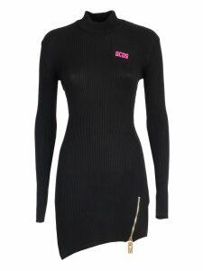 GCDS Dress L/s Fitted Collar Asymmetric
