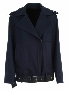 SEMICOUTURE Jacket Ermione Over Wool