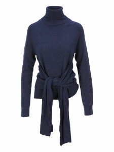 Jw Anderson Knot Detail High Neck Sweater