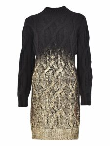 Pinko Cable Knit Dress