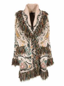 Etro Fringed Detail Coat
