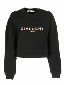 Givenchy Logo Cotton Sweatshirt